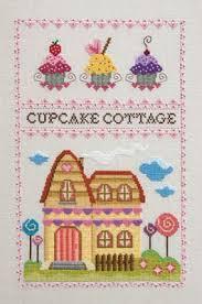 Amazon Com Cupcake Cottage Cross Stitch Chart And Free