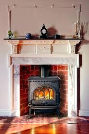 double sided gas fireplace insert gas
