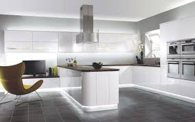 Gloss Kitchen Floor Tiles White Kitchen Cabinets Dark Tile Floor Outofhome