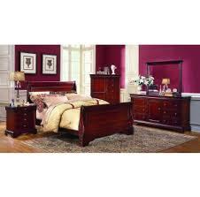 bordeaux louis philippe style bedroom furniture collection. Versailles Bordeaux 6-Drawer Dresser Louis Philippe Style Bedroom Furniture Collection