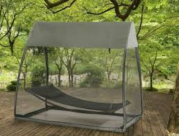 Hammock Tented Covered Outdoor Swing Bed Hanging Tent Patio Portable  Camping Cot   eBay
