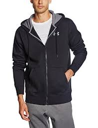 under armour zip up. under armour men\u0027s storm rival cotton full zip warm-up top - black, up