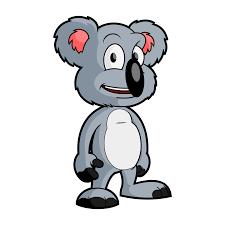 Free Cartoon Koala Bear Clip Art Vector
