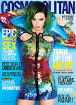 Katy perry covers global issue of cosmopolitan