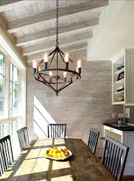 rustic chic dining room chandeliers shabby chandelier