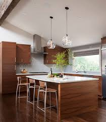 Kitchen Island Modern Kitchen Island Pendant Lights Shine Bright In Seattle Home