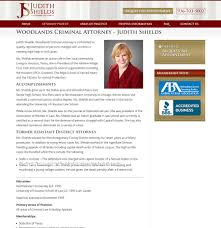 University Of Houston Web Design Woodlandscrimlaw_screenshot2 Houston Web Design Social