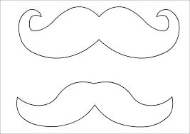 Small Picture Mustache Template Free Premium Templates