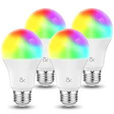 Led Light Bulbs Amazon Smart Bulb Al Above Lights Dimmable E26 9w Wi Fi Led Light Bulb Soft White 2700k 60w Equivalent 810 Lm Rgb W Works With Amazon Alexa Echo