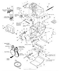 Briggs stratton small engine parts diagram inspirational simplicity 860e 8hp 24 quot es parts diagram for