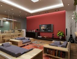 Two Story Living Room Curtains Living Room Curtains Red Passion Red Curtain In A Twostory Great