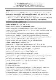 Resume Muthu Automobile Product Costing 7years. S. Muthukumaran DTDE,  B.tech, MBA, PGDBA E-mail: ...