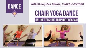 chair yoga teacher training program