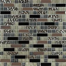 image of nice mirror mosaic tiles