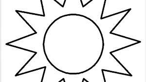 Sun Template Printable Sun Nature Printable Coloring Pages Coloring Page Sun Nature