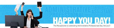 Administative Day Happy Administrative Professionals Day The Original Visitor