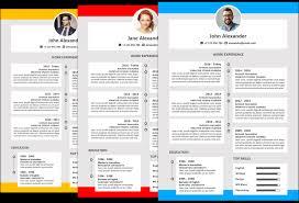 Modern Resume Color Microsoft Office Resumes Alexander Resume Template