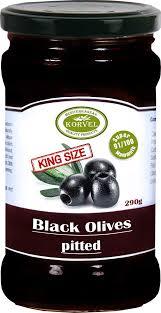 Купить <b>маслины</b> с косточкой Korvel супер маммут 290 г, цены в ...