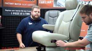 2003-2006 Chevy/GMC Seat Cover Install 3 of 3 - YouTube