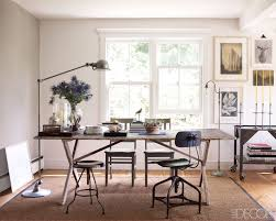 rustic office decor. elledecorinteriors modern rustic office would be a great for the decor s