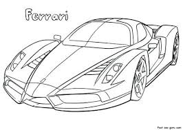 Coloring Pages Ferrari Spider Coloring Pages Shrewd Of Car 458