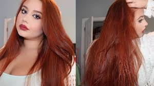 How Do You Dye Your Hair Red If Its Dark Brown