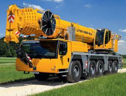 Liebherr Ltm 1160 5 2 180 Ton Mobile Crane Specification