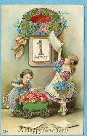 vintage happy new year banner clip art. Quenalbertini Vintage New Year Card To Happy Banner Clip Art