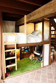 Desk And Storage Loft Beds