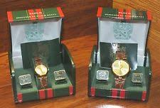 paolo gucci watches parts accessories paolo diamond gucci his hers leather gold tone wrist watches gift box sets