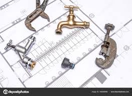 Plan Plumber And Wrench Stock Photo Denboma 169356946