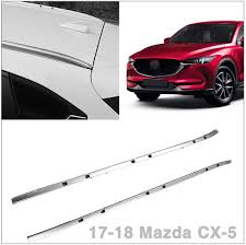 Mazda Cx 5 Wrench Light Roof Rack Side Rails Bars Silver Pair Set Aluminum Fits 2017 2018 Mazda Cx 5