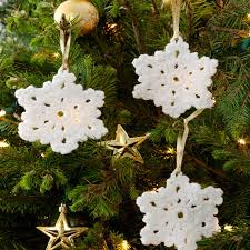 Free Crochet Christmas Ornament Patterns Inspiration Snowflake Ornament Red Heart