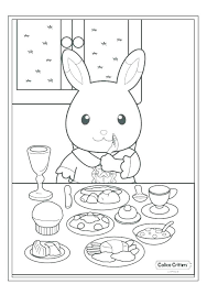 Woodland Creatures Coloring Pages Stockware