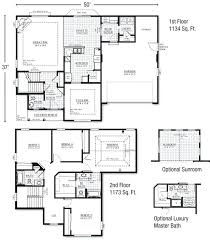 2 story house floor plans and 2 story house floor plan with dimensions story home floor