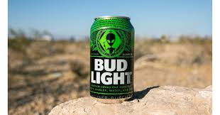 Green Bud Light Bottles Bud Light Produces Special Edition Alien Themed Cans