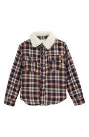 Hudson Designer Shirts Hudson Oatman Fleece Lined Jacket Toddler Boys Little
