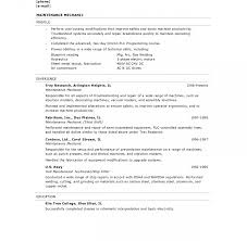 Cover Letter Hvac Resume Examples Objective Sample No Experience