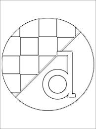 Vlag Kroatie Kleurplaat
