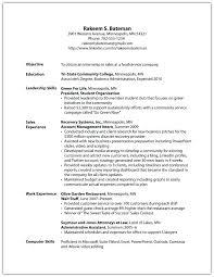 Leadership Qualities Resume 7568 Cd Cd Org