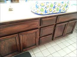 restaining kitchen cabinet large size of gel stain bathroom vanity cabinets and sand before after