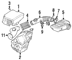 parts com® oldsmobile engine air intake resonator resonator 2002 oldsmobile bravada base l6 4 2 liter gas air intake