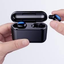 Tai Nghe Bluetooth 5.0 Tai nghe Không Dây chống nước Bluetooth Wireless  Earbuds Q32 - Hàng Nhập Khẩu - Tai nghe Bluetooth nhét Tai Thương hiệu HBQ