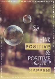 Postkarte Sprüche Lebensweisheit Think Positive Sprüche