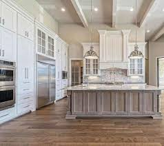 20 Shabby Chic Farmhouse Kitchen Cabinets Makeover Ideas Trendecora