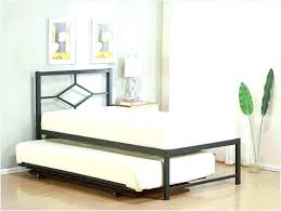 twin bed with pop up trundle. Twin Pop Up Trundle Bed Frame With