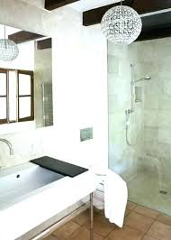 bathroom chandelier picturesque modern bathroom chandeliers ideas