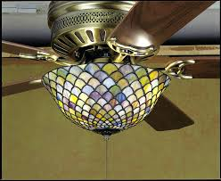 glass ceiling fans bay style ceiling fan stained glass ceiling fan shade