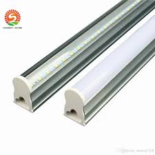 2ft Fluorescent Light In Stock T5 Integrated Led Tube Light 2ft 12w 3ft 4ft 22w Ledtubes Fluorescent Tubes Lamps Warm Nature Cool White Ac85 265v Wall Lamps T8 Tube Light
