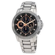 michael kors ryker chronograph black dial men s watch mk8528